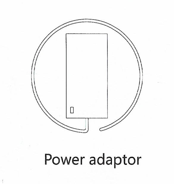 A Technical sketch of the 8Switch Power adapter